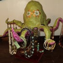 A guide to making a display octopus for your jewelry.