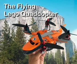 Flying Lego Quadcopter