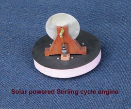 Solar powered model engines to teach principles of renewable energy.