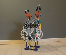 Knex Ball Machine Element: Bunny Head