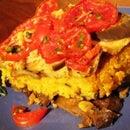 Easy Vegan Recipe for Paella with Aubergines