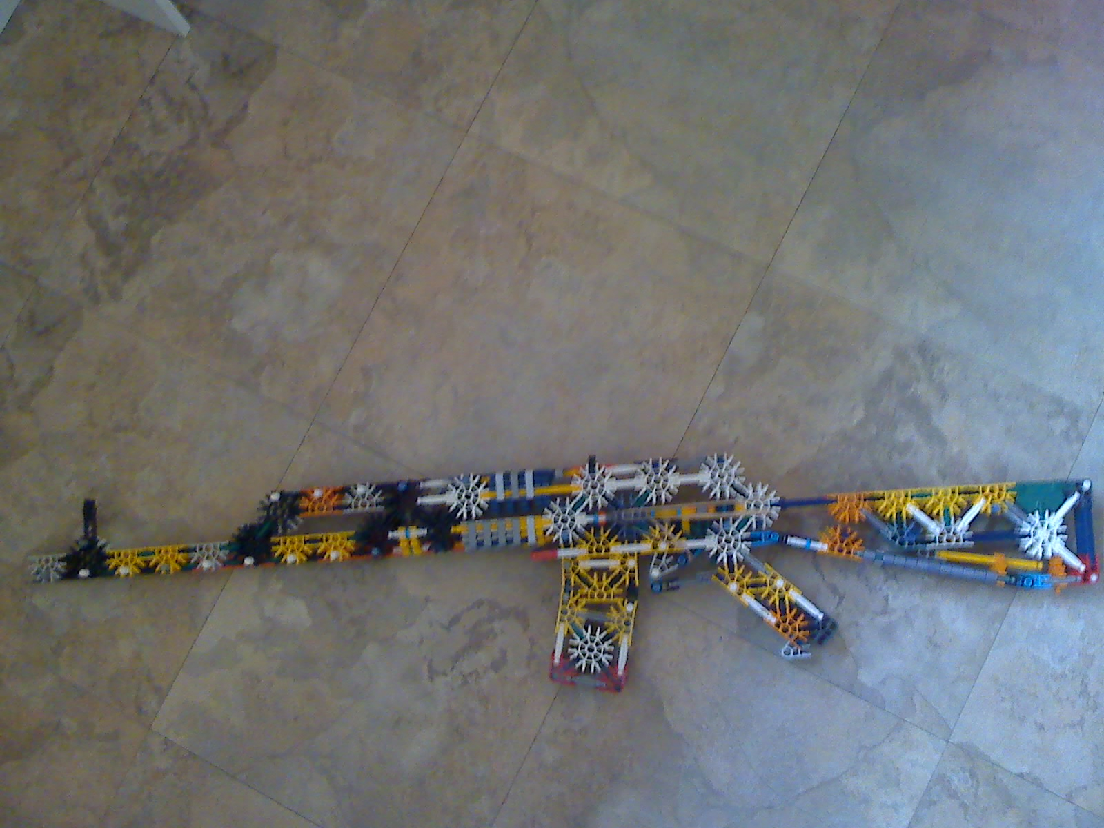 Picture of Knex Ak-74- Updated