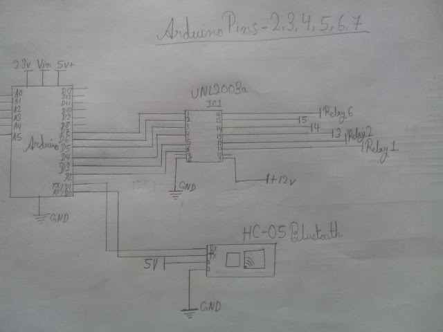 Picture of The Circuit Diagram