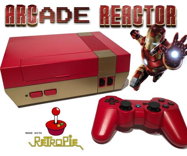 ARCade Reactor - RetroPie Gaming and Media System