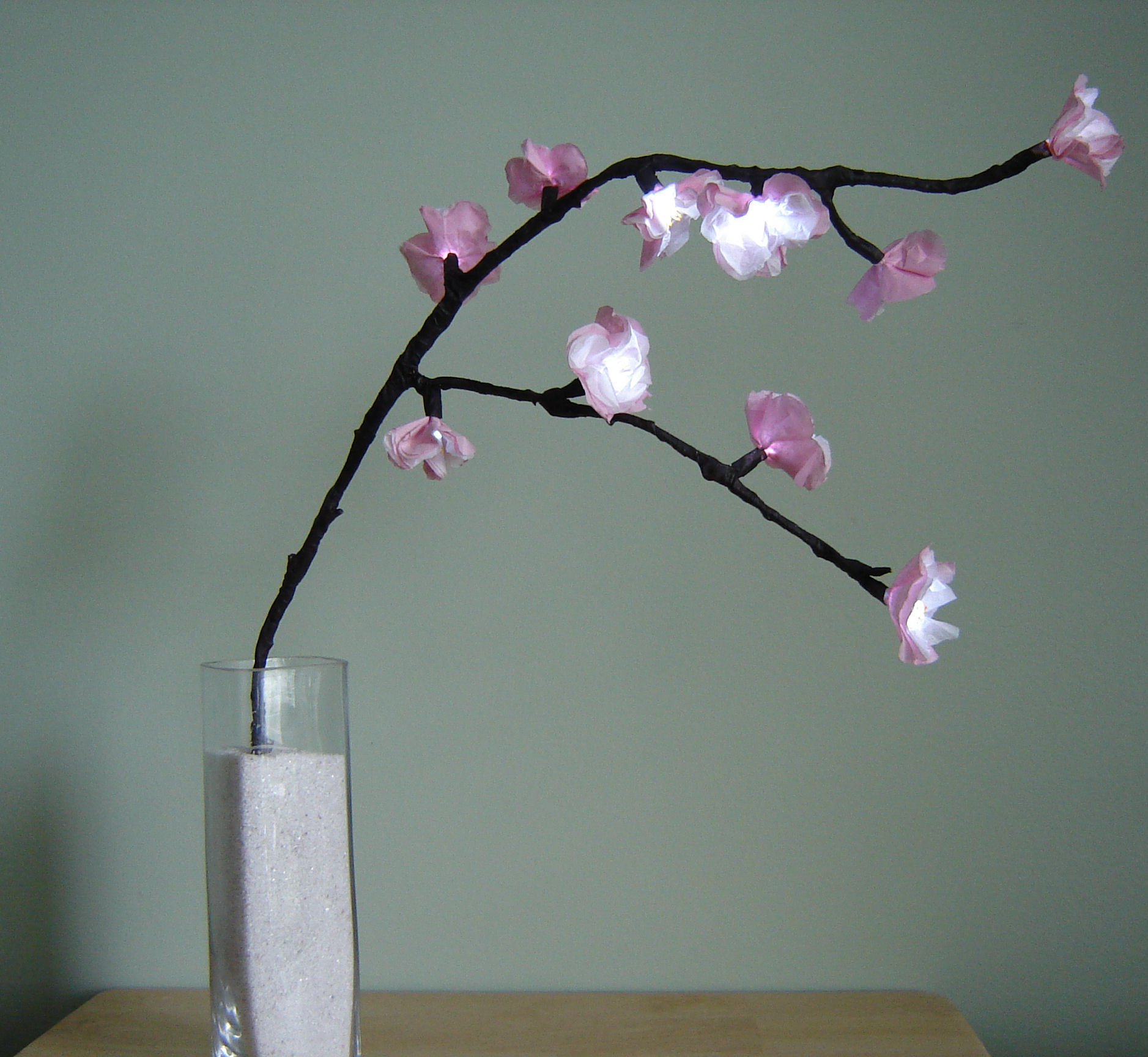 Picture of How to Make Cherry Blossom Lights