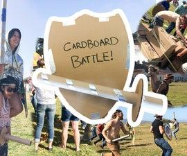 Cardboard Fortress Battle! (capture the Flag)