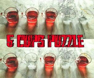 5 Cups Puzzle