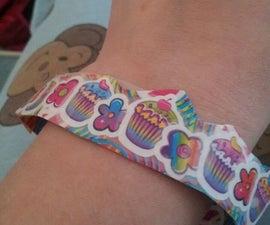 sticktape bracelet