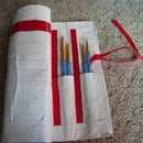Cool Duct Tape, Paint Brush Case