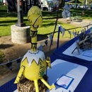 Sneetch From Dr. Seuss Story Made From Trash