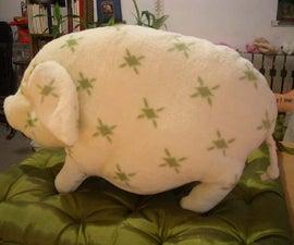 How to do a little pig pillow