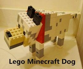Lego Minecraft Dog