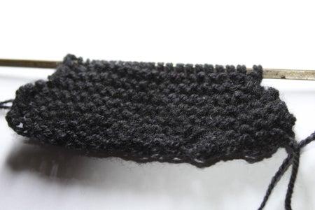 Knitting the External Part
