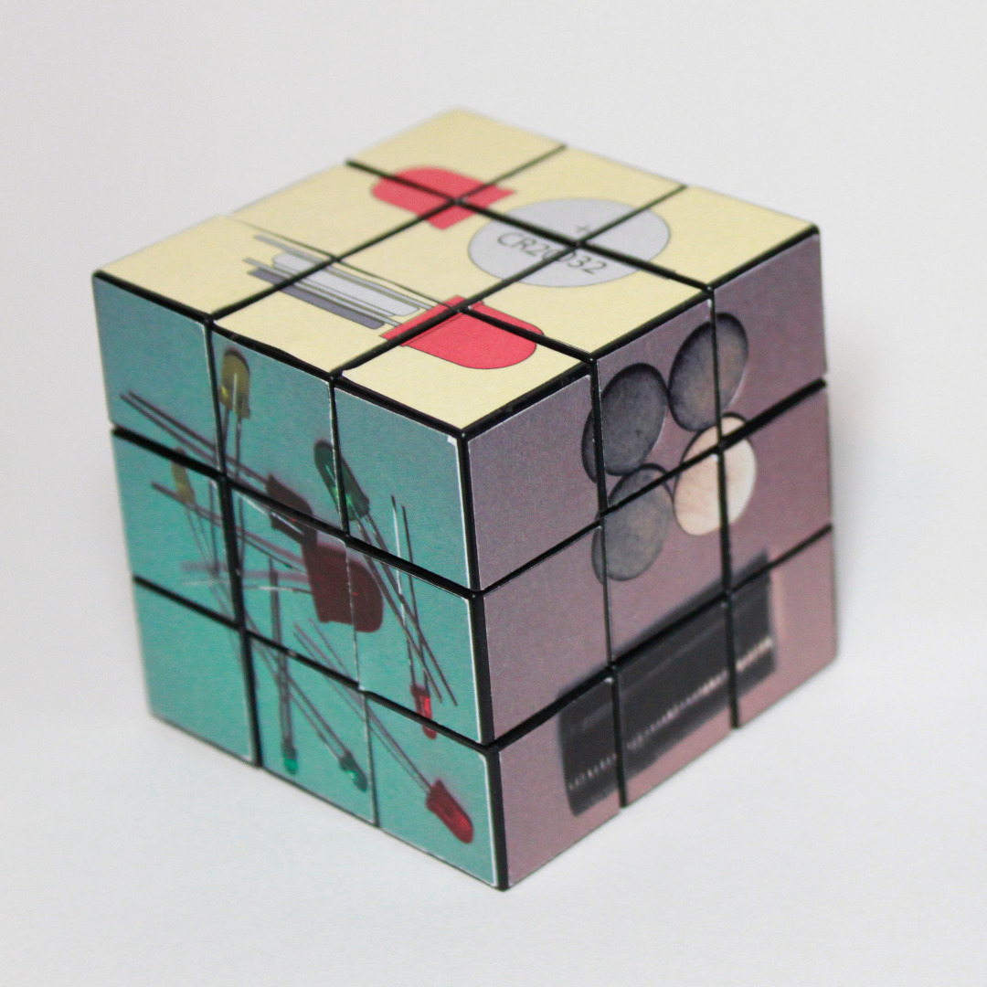 Picture of Rubik's Cube Throwie Instructions