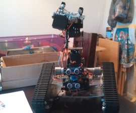Autonomous Tank W/ Robotic Arm(Arduino, Bluetooth)