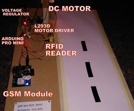Prepaid Tollgate System using RFID ,Arduino and GSM