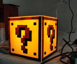 Mario Question Block Light