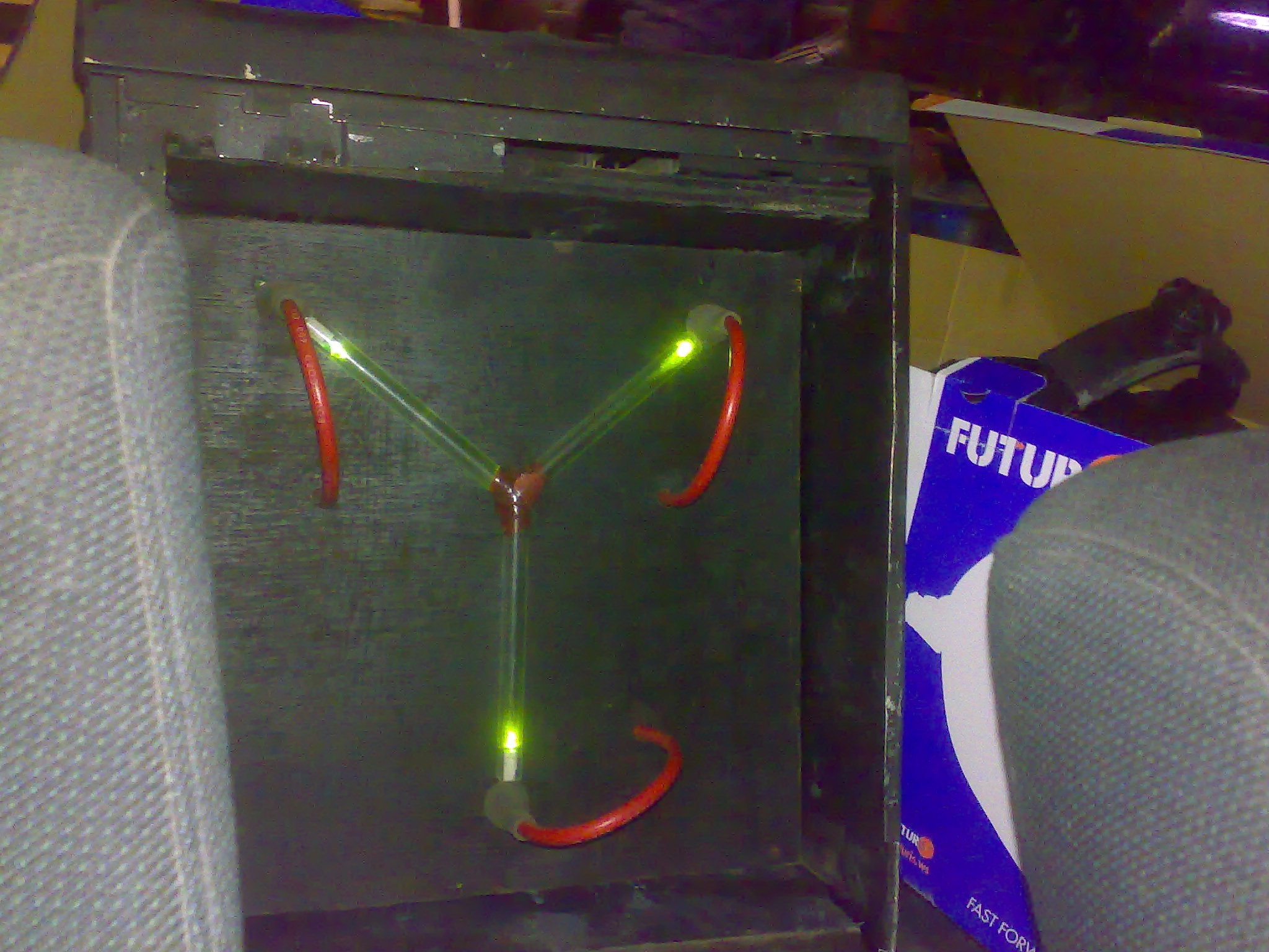 Picture of Flux Capacitor -VERY EASY TO BUILD