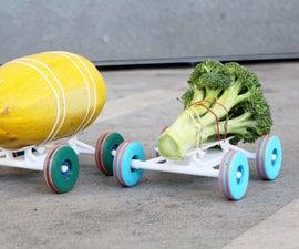 3D Printed STEM Racers