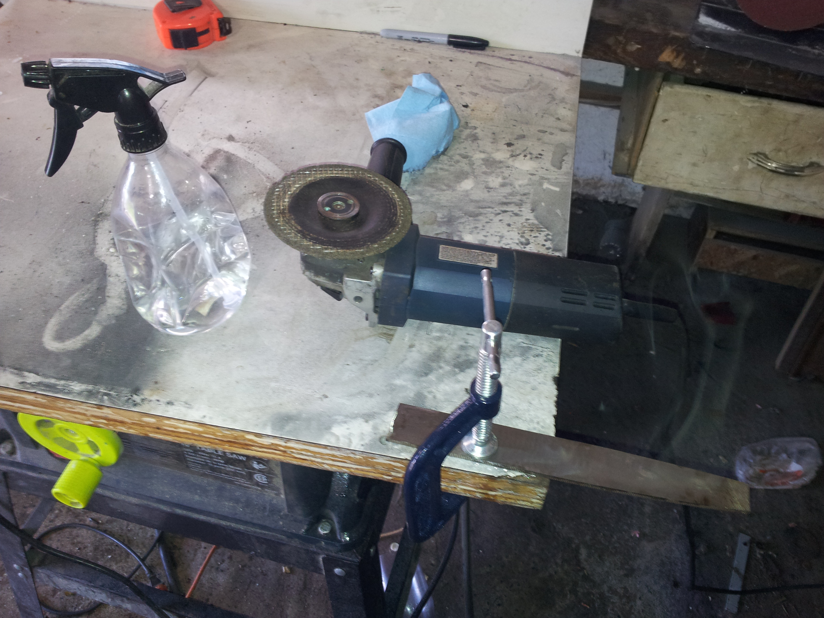 Picture of Prepping Your Bar of Steel