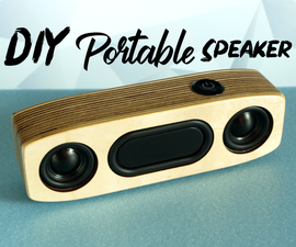 Simple Portable Bluetooth Speaker