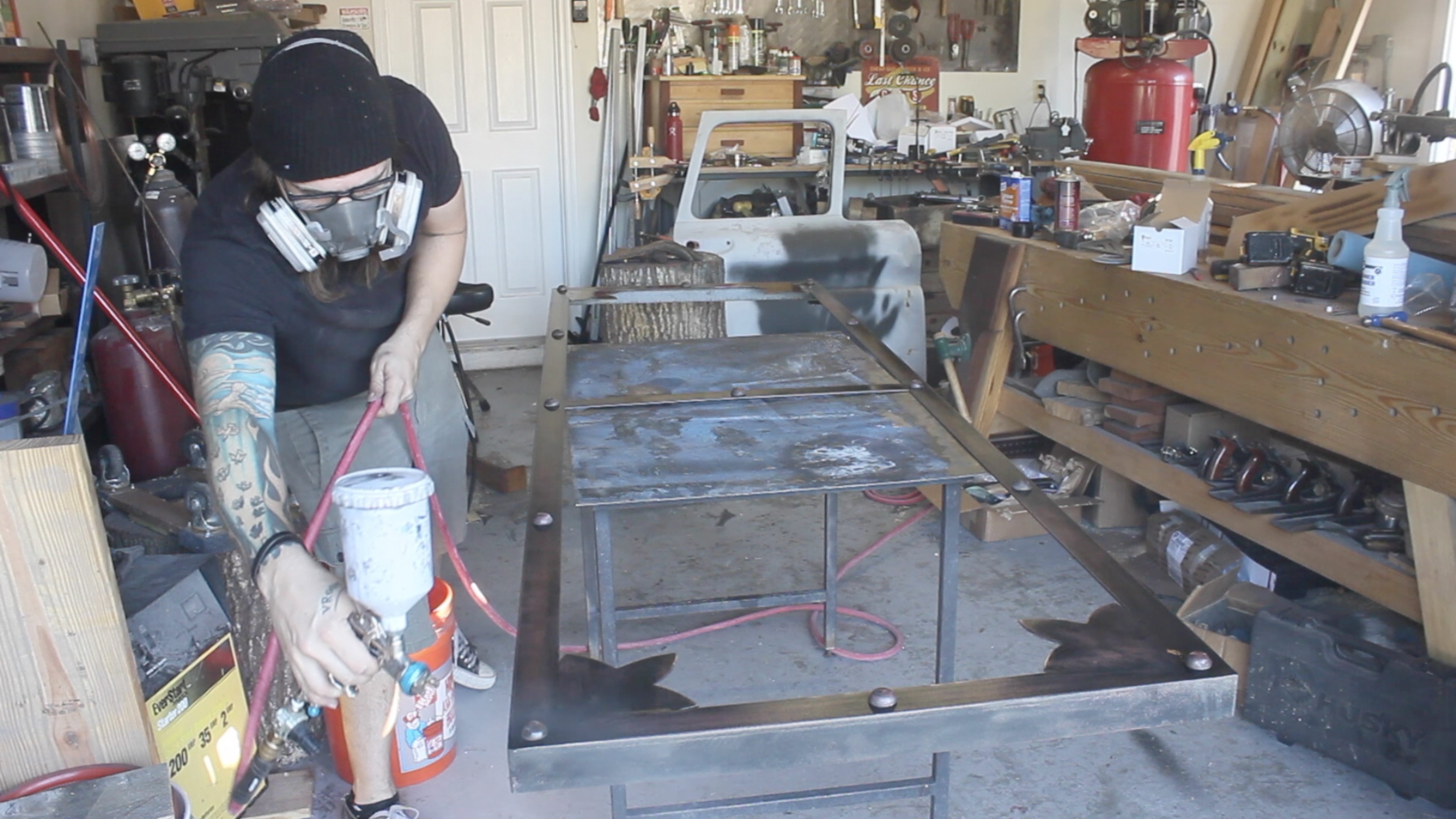 Picture of Sealing the Frame
