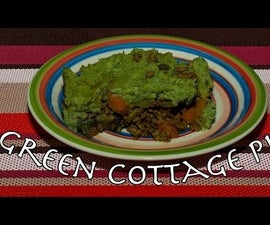 Low Carb Green Cottage Pie for St. Patrick's Day