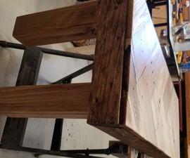 4 Foot Long Sitting Bench