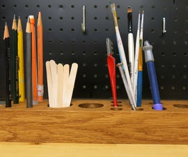 Wooden DIY Tool Organizer