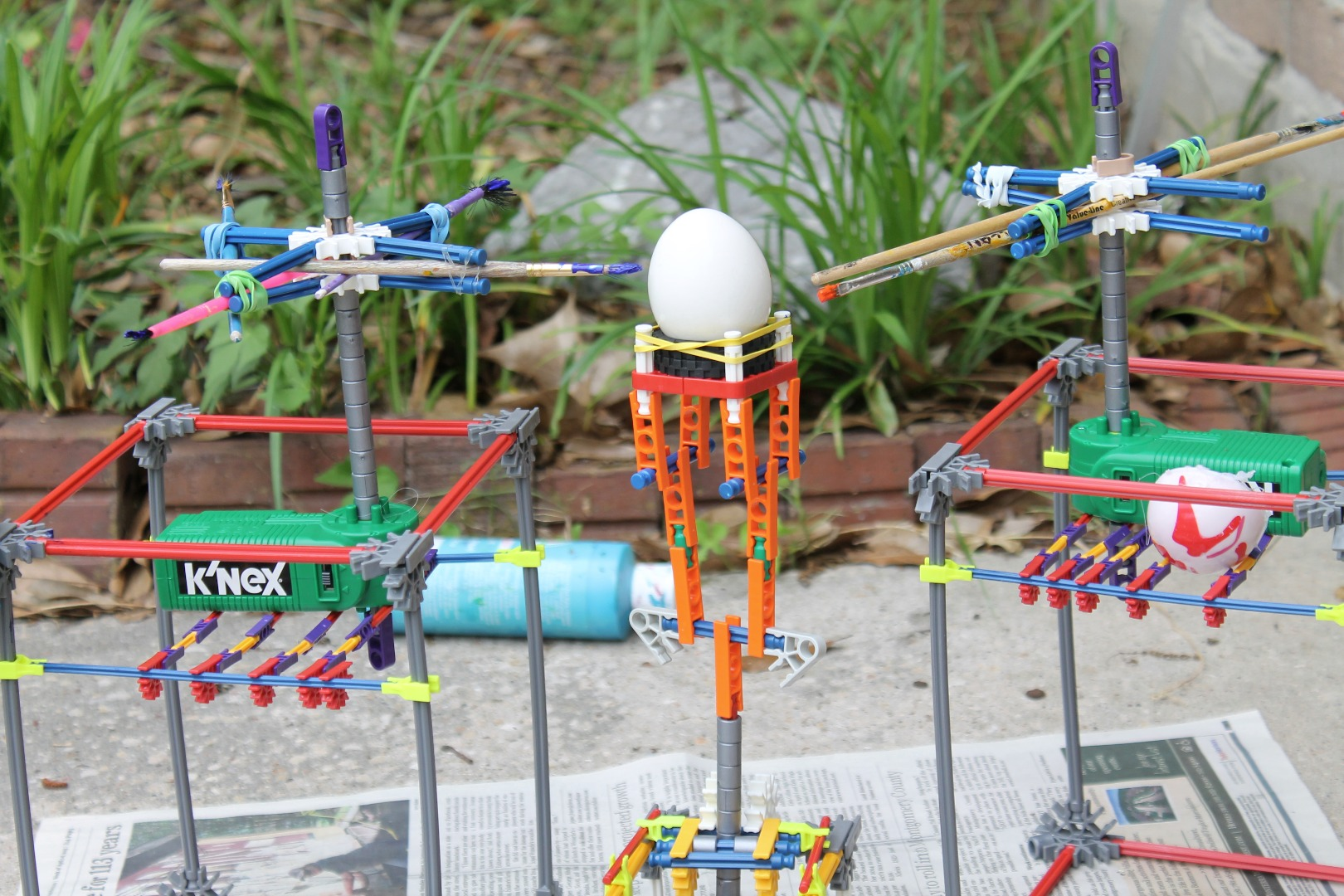 Picture of Knex Automatic Egg Painter