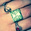 Dollar Bill Origami Ring