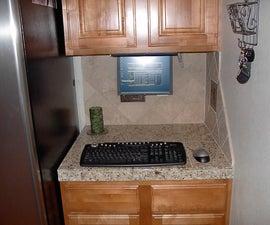 Kitchen PC With Laptop Twist