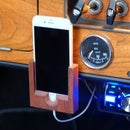 mobile phone mount for classic cars