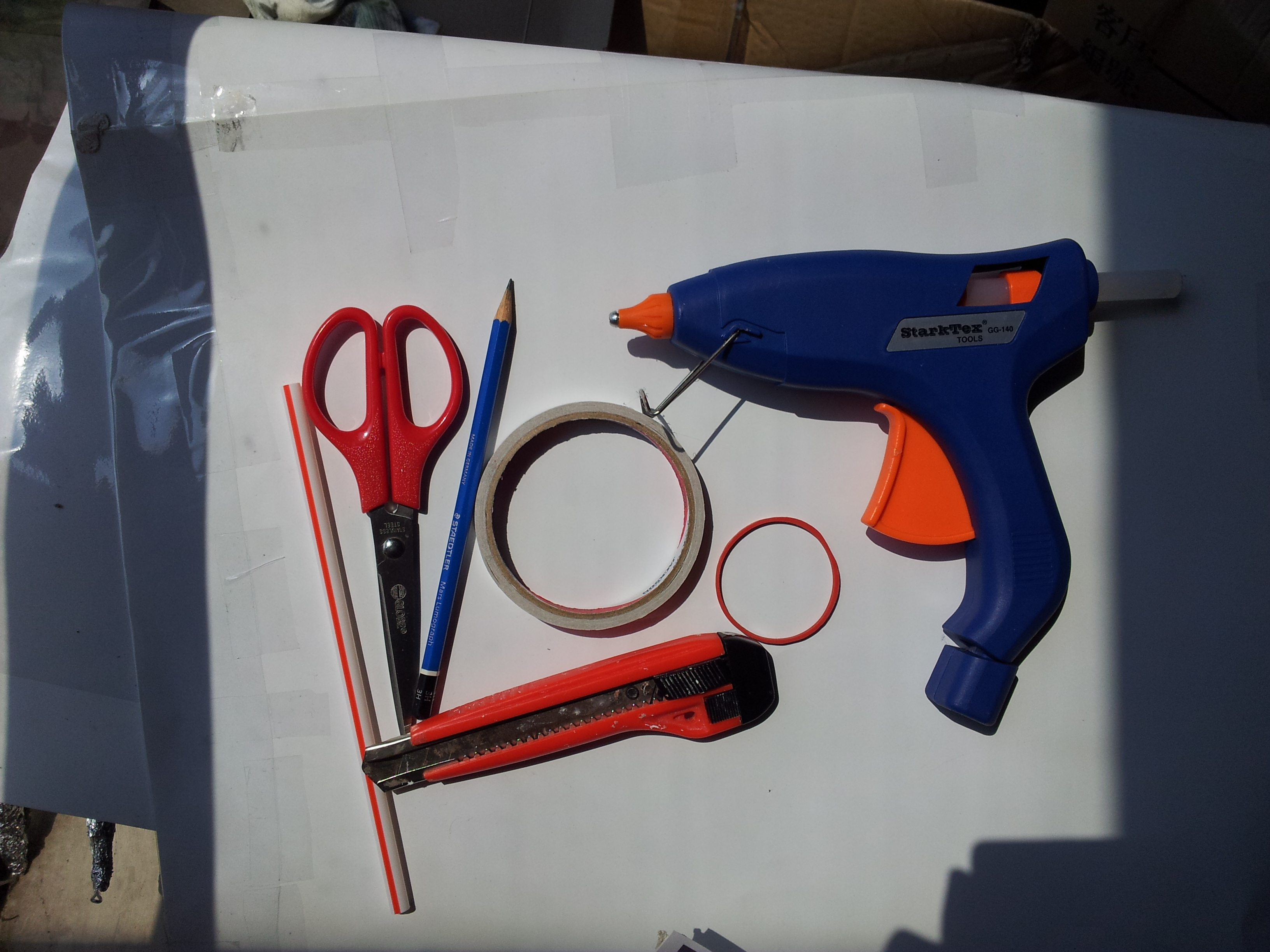 Picture of Materials and Tools