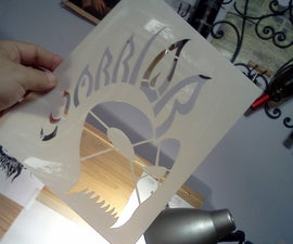 Design your own logo and make a painting stencil
