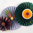 DIY Paper Crafts: How to Make Simple Paper Rosettes | Spring Flowers
