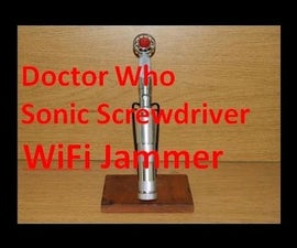 Doctor Who Sonic Screwdriver WiFi Jammer
