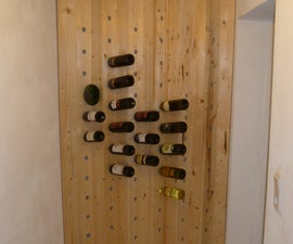 Easy to build WINE RACK