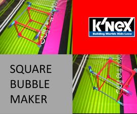 K'nex Square Bubble Maker