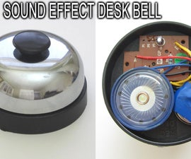 Desk Bell That Plays Sound Effect