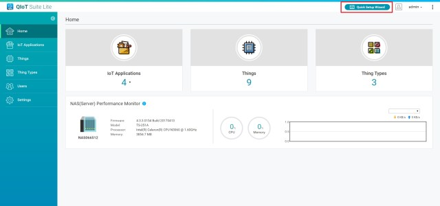 Picture of Create a New IoT Application
