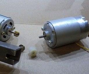 Mini- Motor Gear Pulling