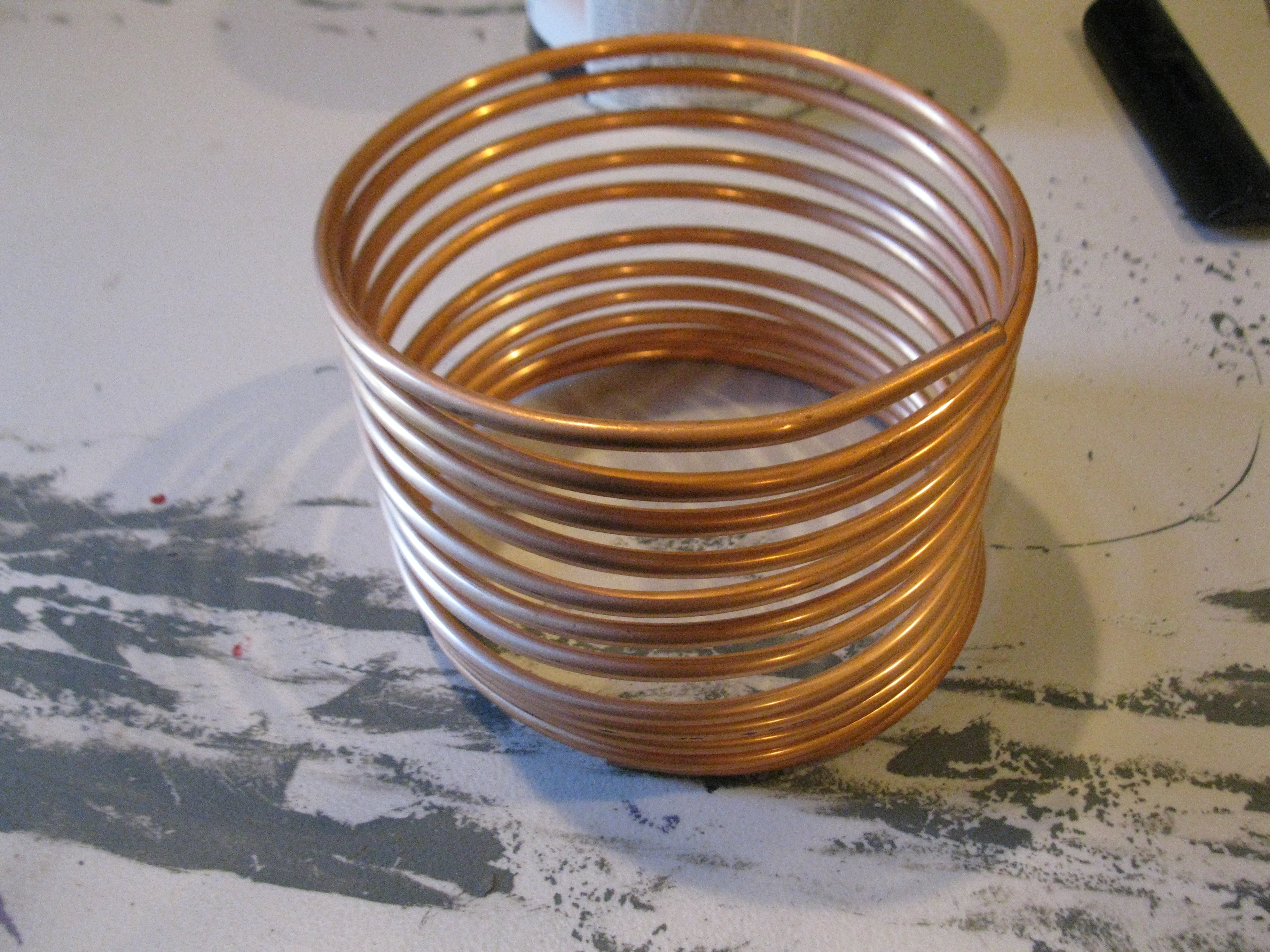 Picture of Preparing the Coil
