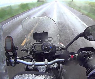 Motorcycle Safety: Riding in the Rain