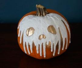 Dripping Skull Pumpkin