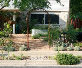 Turn Your Front Yard into a Garden