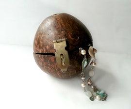 DIY Coconut Shell Jewelry Box