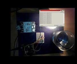 ARDUINO - SOLID STATE RELAY FAN/ventilator Control Using the W1209 Thermistor and SSR-25 DA