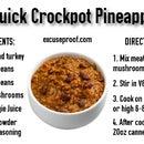 Crazy Quick Crockpot Pineapple Chili