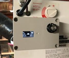 HRV (Home Air Exchanger) Arduino Controller With Air Economizer